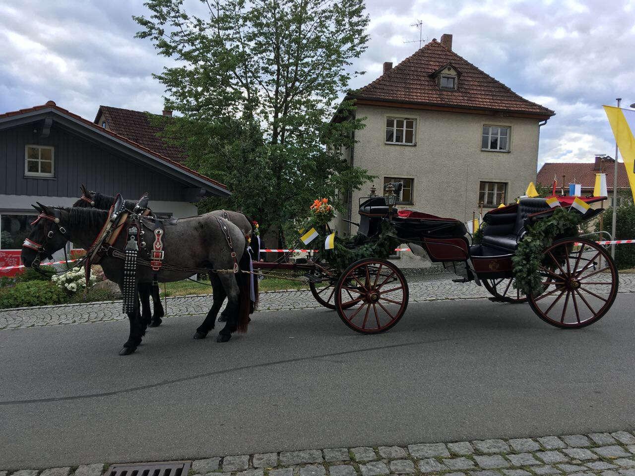 Pferdekutschen- oder Schlittenfahrten