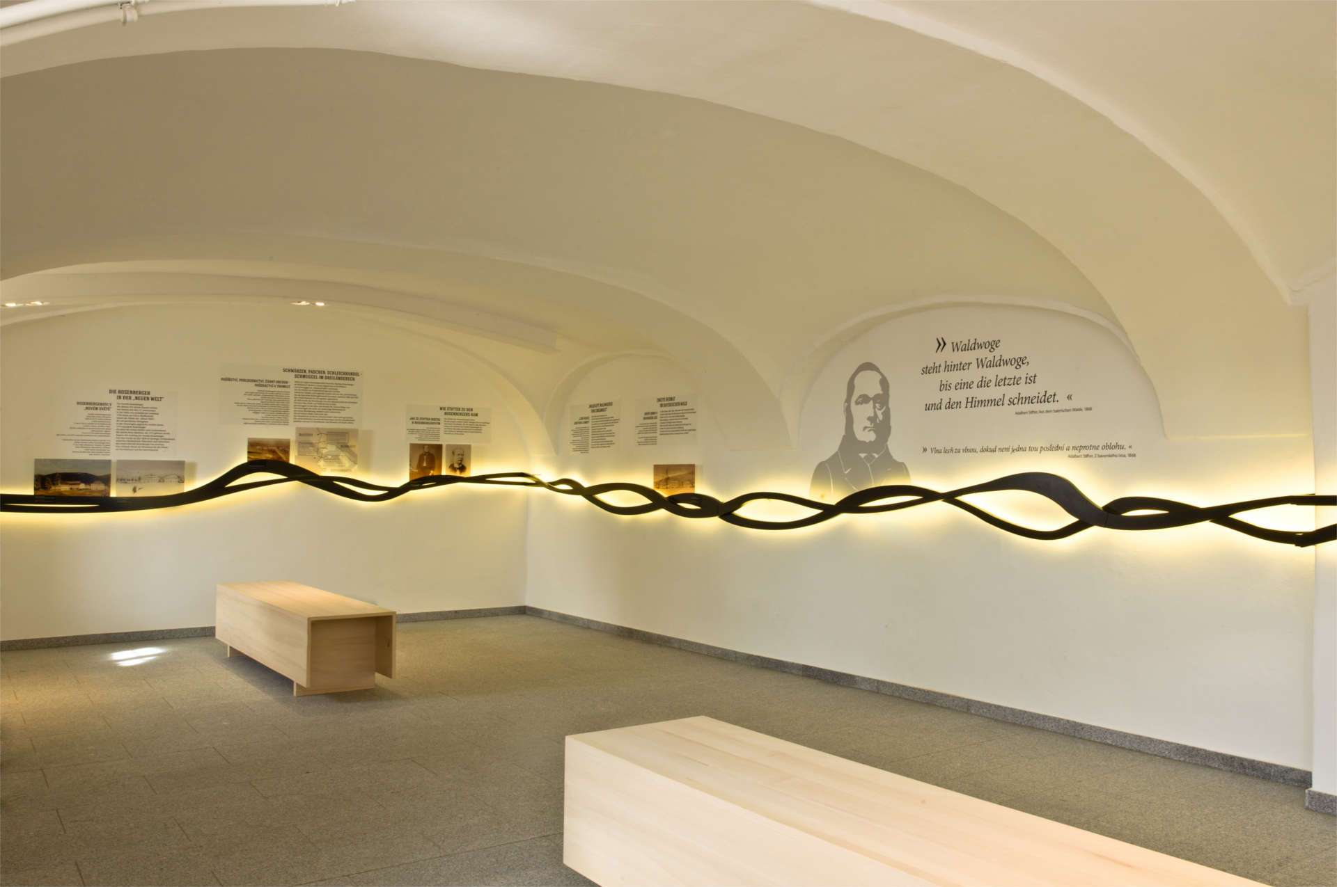 Museum im Rosenberger Gut Stifter und der Wald